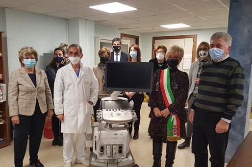 Acciai Speciali Zorzetto dona un nuovo ecografo di ultima generazione ad Andos Ovest Vicentino e Ulss8