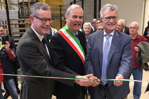 Centrale del latte di Vicenza, inaugurato il magazzino 4.0
