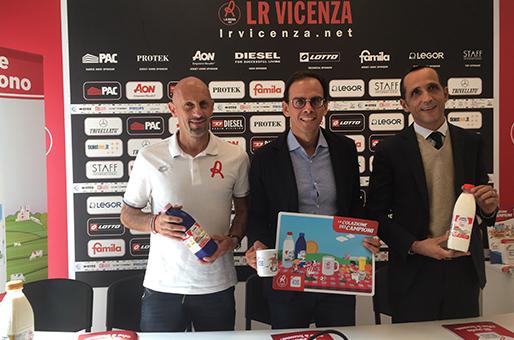 """Centrale del Latte di Vicenza lancia """"La colazione dei campioni"""" in collaborazione con LR Vicenza"""