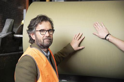 Carlo Cracco in Favini per il packaging green