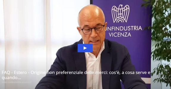 FAQ - Origine non preferenziale delle merci: cos'è, a cosa serve e quando si applica