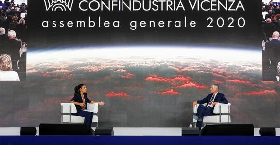 """""""Italia anno zero - riscrivere il futuro"""" il video dell'Assemblea 2020 di Confindustria Vicenza"""